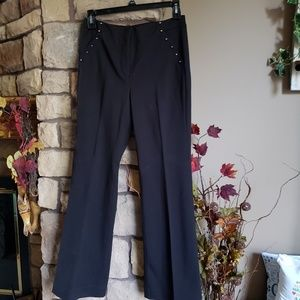 WHBM pants  sz 10, black , the slim flare